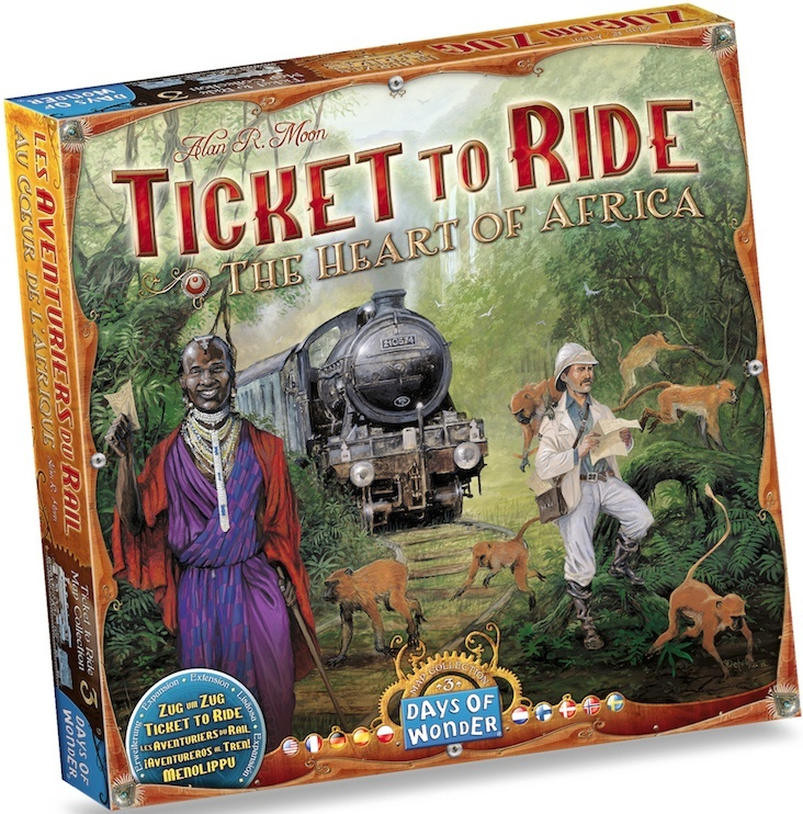 Ticket to Ride (Wsiąść do Pociągu): The Heart of Africa