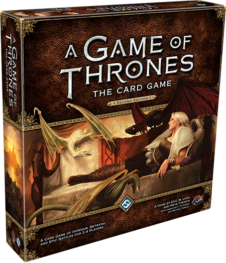 A Game of Thrones: The Card Game Second Edition (wersja angielska)
