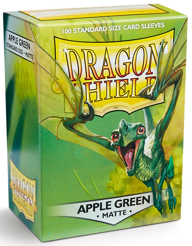 Koszulki na karty - Apple Green matte (Dragon Shield, 100 szt.)